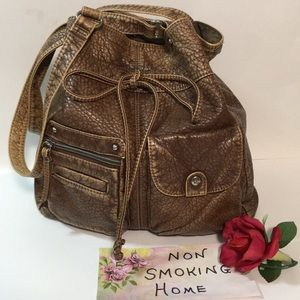 SPARROW TRUE CROSSBODY BAG BROWN TAN